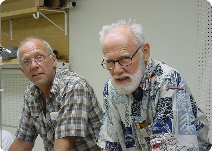 Dr. James C. Conti Professor Milt Swanson