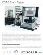 Stent Radial Fatigue Testers