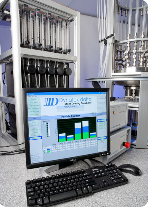 Stent Particle Testing
