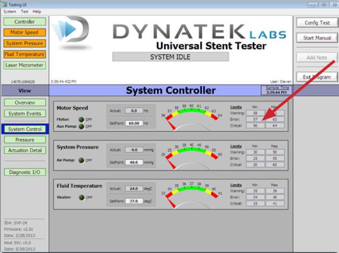Stent Testing