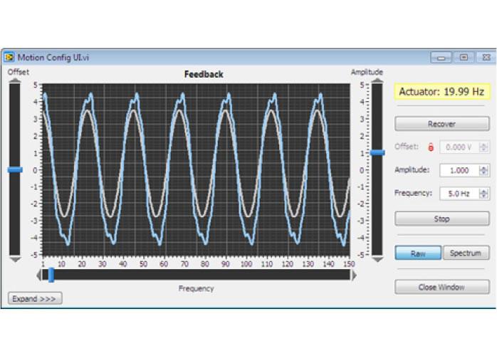 Fig. 3: UC Motion Configuration Screenshot.